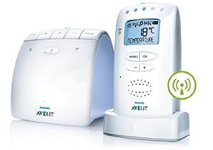 Philips AVENT新安怡婴儿多功能 无线监视器DECT Baby Monitor $78.59