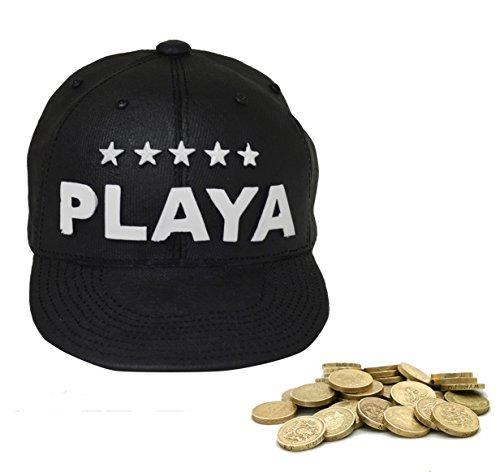 "Berretto da baseball NEW Nero ""Playa salvadanaio (cap75)"