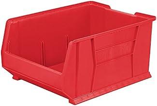 Akro-Mils Super-Size Akrobins - 18-14X23-78X12quot - Red