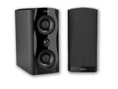 Definitive Technology SM65 Bookshelf Speaker - Black