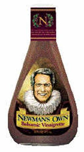 Newman's Own Balsamic Vinegar Salad Dressing 16 oz (Pack of 6)