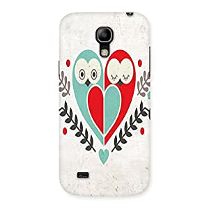 Ajay Enterprises Owl Love Back Case Cover for Galaxy S4 Mini