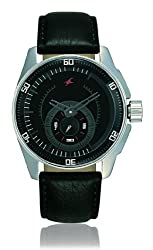 Fastrack Black Magic Analog Black Dial Mens Watch - NE3089SL04