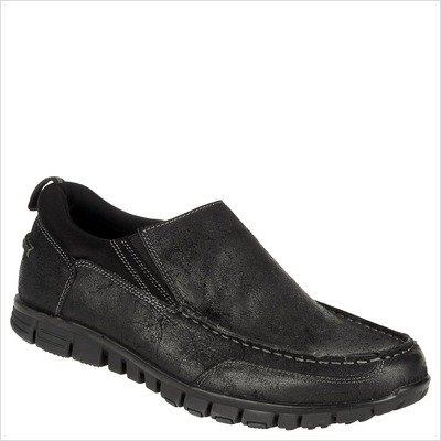 Men's Slide Loafer in Black