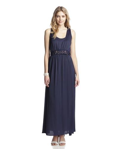 Aijek Womens Sublime Convertible Bib Sleeveless Dress