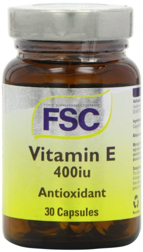 FSC 400iu Vitamin E - Pack of 30 Capsules