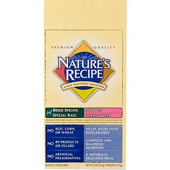 Nature's Recipe Breed Specific Dog Food for Toy Dogs