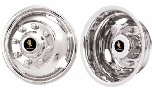 17″ Stainless Steel Wheel Simulators for 2005-2013 Ford F350