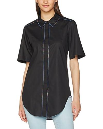 Love Moschino Bluse klassisch schwarz