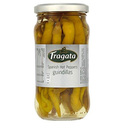 Fragata Spanisch Hot Peppers - Guindillas (300 g) - Packung mit 2