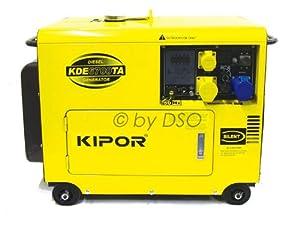Portable Generator: Kipor Super Silent Diesel Generator with