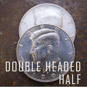 Double Sided Coin - Half Dollar - Head