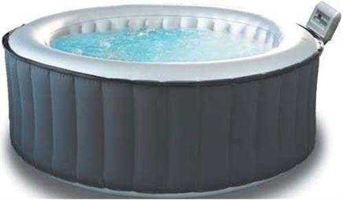 Test aufblasbarer whirlpool