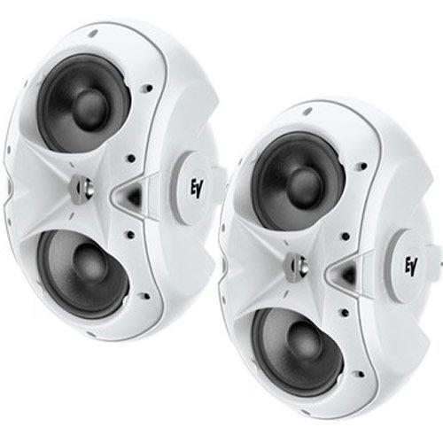 Ev Evid-4.2 2-Way Twin 4In Woofers/200W White-Pair Installation & Outdoor Speaker