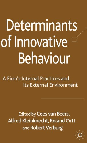 Determinants Of Innovative Behaviour: A Firm'S Internal Practices And Its External Environment front-821525