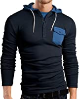 Black Hills Slim Fit sweat shirt, pull à capuche, BH132