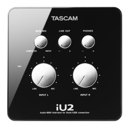 Tascam IU2 Apple iPad/iPhone interface Black Friday & Cyber Monday 2014