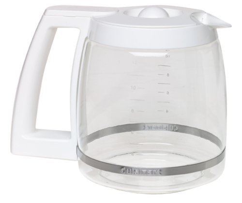 Cuisinart DGB-500WRC 12-Cup Replacement Coffee Carafe, White, Garden, Lawn, Maintenance
