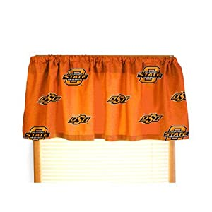 Oklahoma State Printed Curtain Valance by College Covers