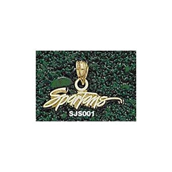 San Jose State Spartans Spartans 3 16 Pendant - 14KT Gold Jewelry by Logo Art