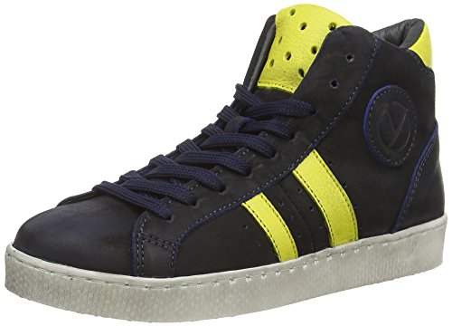 HIP H1046, Low-Top Sneaker Ragazzo, Blu (Blau (46CO/75CO)), 28