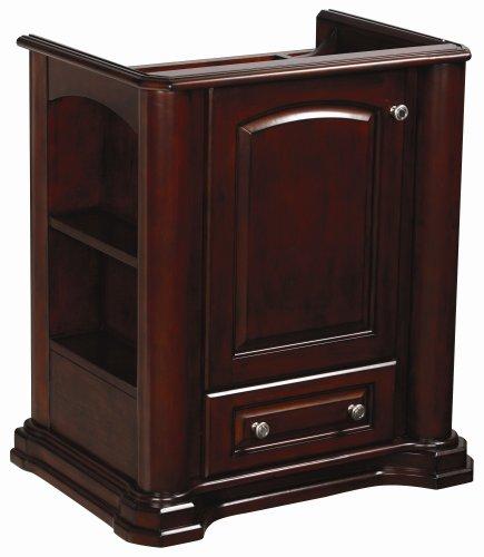 Danze DF022230MH Cirtangular Knightsbridge 30-Inch Freestanding Vanity, Mahogany