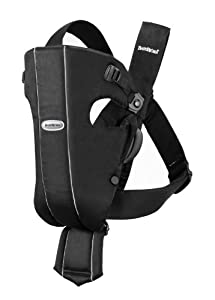 BabyBjorn Baby Carrier (Original Black Classic)