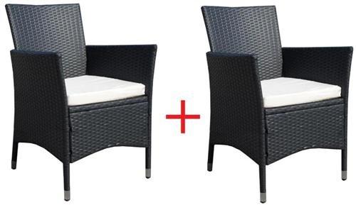 2 x Poly-Rattan Sessel Stuhl Stühle Gartenmöbel Rattansessel Rattanstühle Rattanstuhl Rattanmöbel online bestellen