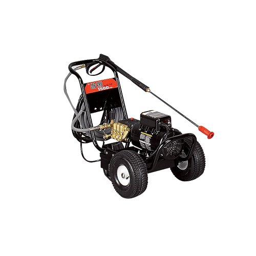 Mi-T-M Industrial Electric Cold Water Pressure Washer - Heavy-Duty - 2000 Psi