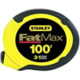 Stanley 34-130 100-Foot FatMax Long Tape Rule
