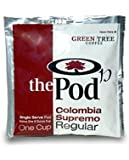 The POD, 1-Cup Coffee Pods - Colombia Supremo (Regular) 36 Pods