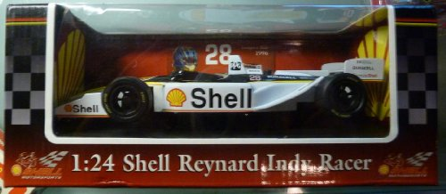 Shell Reynard Indy Racer - 1:24 Scale Die Cast Collectible Replica - 1