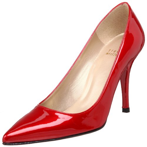 Stuart Weitzman Women's Daisy Pump,Red Quasar,9 M US
