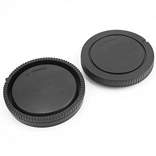 Noir Bouchon Couvre Couverture Couvercle Arrière Cap Objectif Pour Sony E-Mount