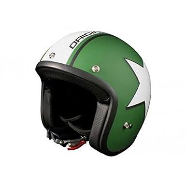 OR001063 - Casque Origine Primo Astro Vert Mat/Blanc S