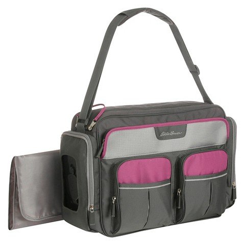 Eddie Bauer Places and Spaces Duffle Diaper Bag- Canyon - 1
