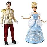 "Disney Store Princess Cinderella & Prince Charming Classic 12"" Doll Set"