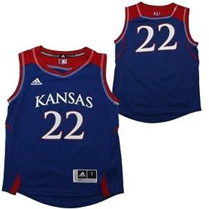 adidas Kansas Jayhawks Youth Replica Basketball Jersey