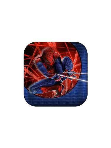 "The Amazing SpiderMan 7"" Dessert Plates 8 Pack"