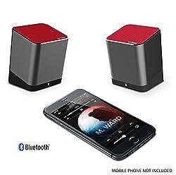 Trendwoo Twins Black Bluetooth Dual Speakers