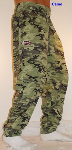 O500 Otomix Baggy Workout Gym Pants - Green Camo