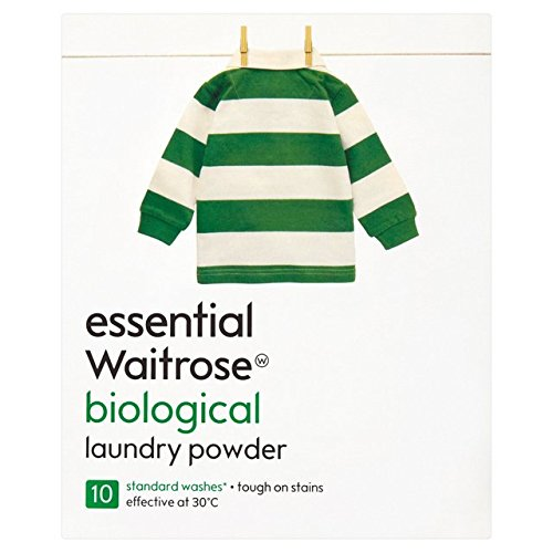 Bio Automatic Washing Powder essential Waitrose 800g