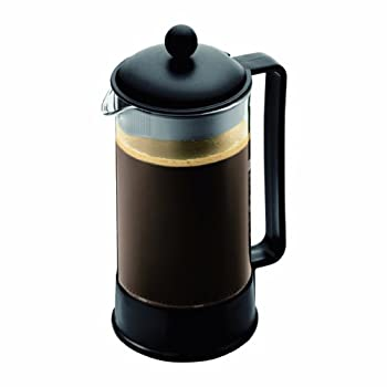 The Brazil French Press coffeemaker, designed in the early 80's, was our first coffeemaker and quickly became a symbol of what Bodum stands for. Attractive and functional design at an affordable price. The Brazil has a durable, heat-resistant borosil...