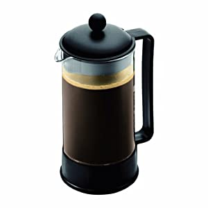 Amazon.com: Bodum Brazil 8-Cup French Press Coffee Maker, 34-Ounce ...