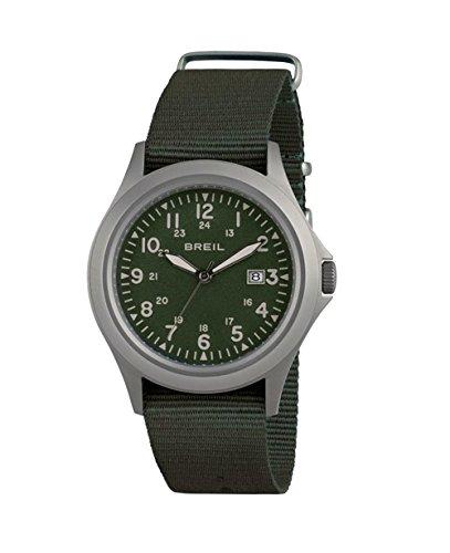 Watch Breil Army SS Man Steel TW1484 Militar Green Strap Green