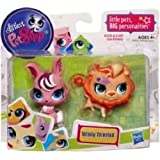 Littlest Pet Shop Totally Talented Pets Lion Bunny