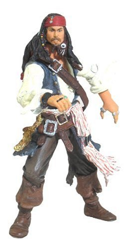 Pirates of the Caribbean Dead Mans Chest Final Battle Jack Sparrow Action Figure