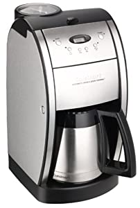 Cuisinart DGB-600BC Grind & Brew, Brushed Chrome