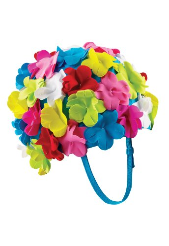 Speedo Flower Cap with Strap, Multi