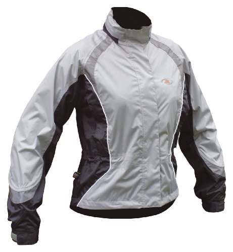 Polaris Flyte Ladies Waterproof Jacket Silver/Grey Small (10)